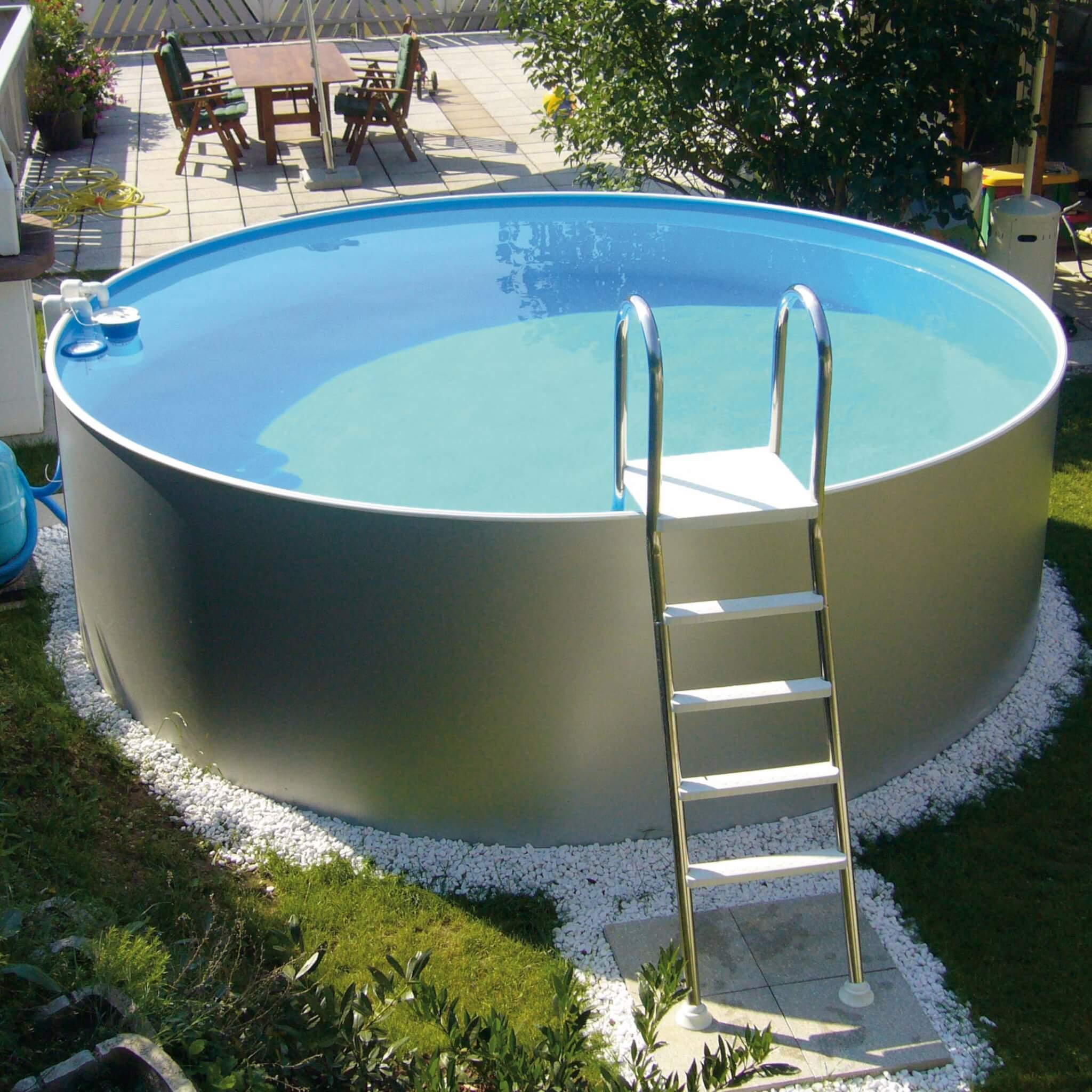 Aufstellbecken rund 120 cm tief for Poolfolien rundbecken